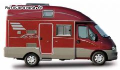camping-car compact Hymer Exsis, aux dimensions d un fourgon.
