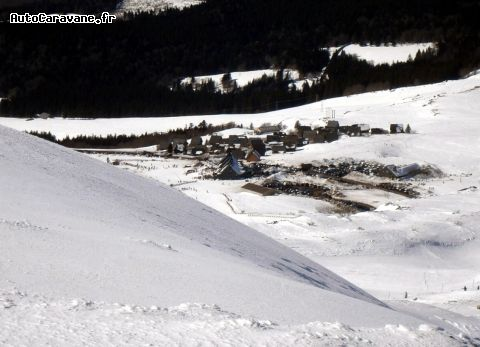Chastreix: Station de ski en massif central.