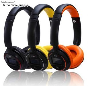 Zealot Casque audio bluetooth FM MP3 + cable